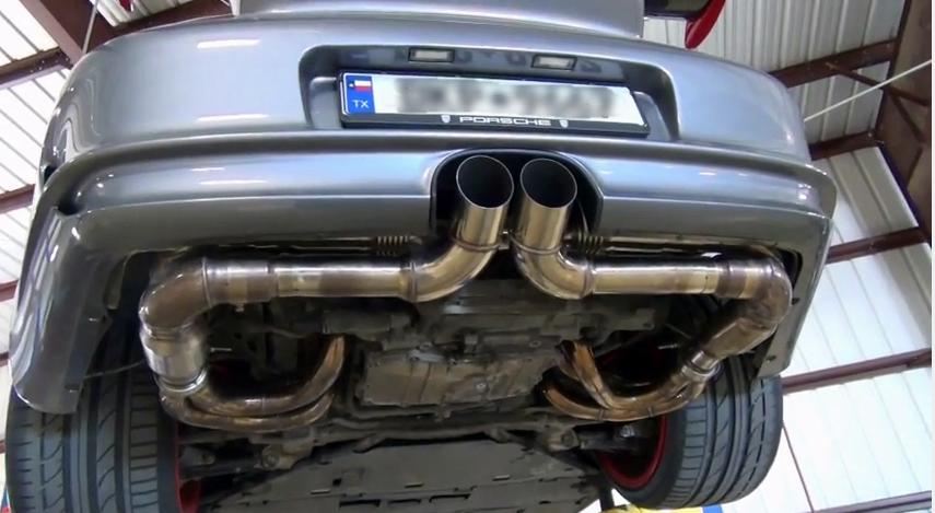 GT3 exhaust