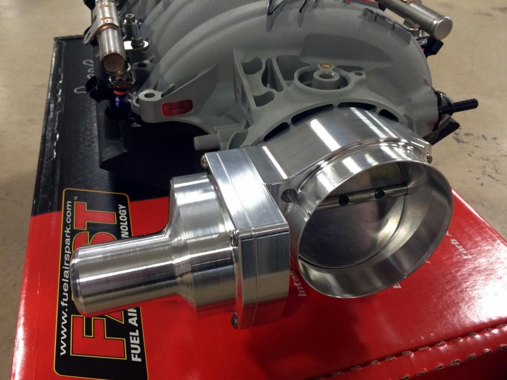 Upgraded throttle body