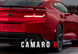 6th gen Camaro Performance Packages