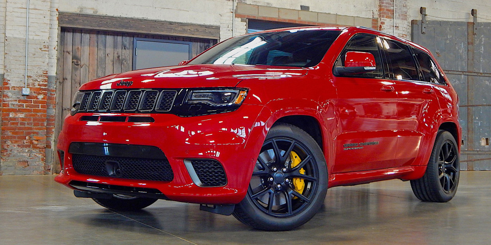 Jeep TrackHawk Performance Packages in Houston