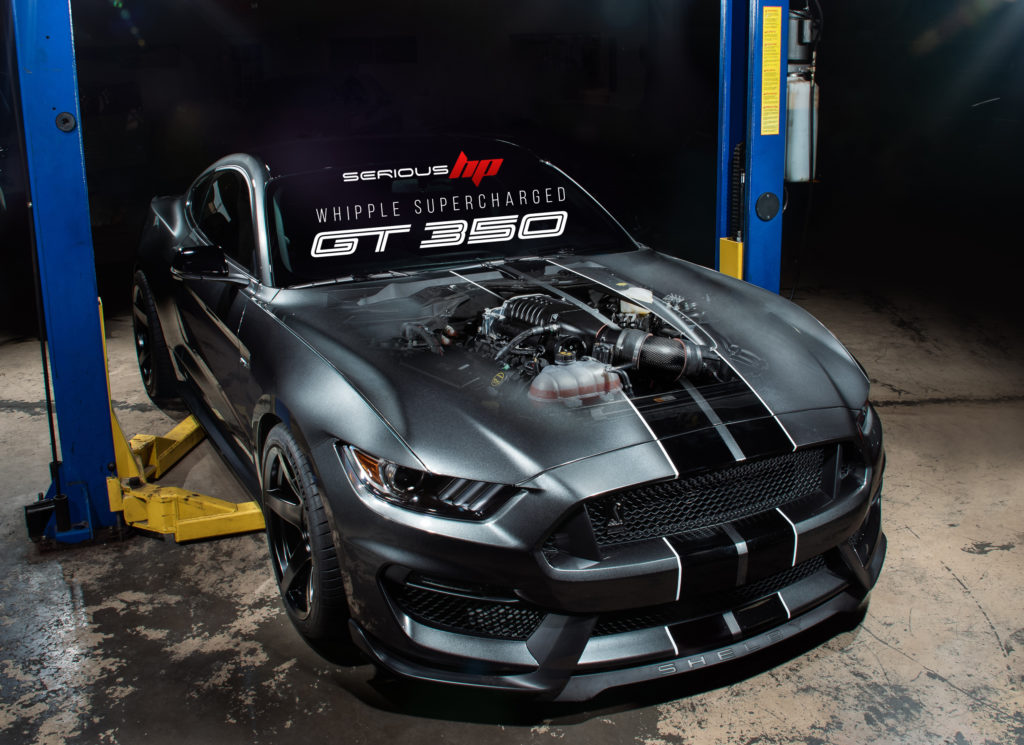 Shelby GT500 Performance Packages at Serious HP